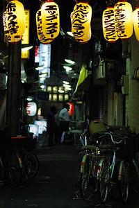A back alley in Sangenjaya