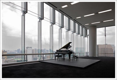 The concert hall.