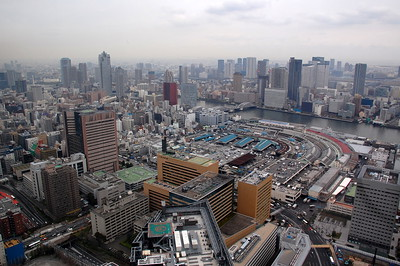 A view from Caretta Shiodome