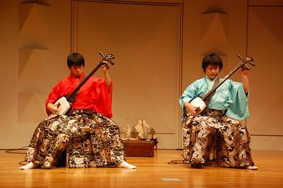 """Tsugaru Shamisen players """"Seshami Street"""""""
