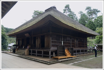 The main temple building.