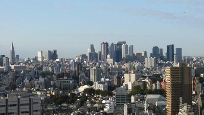 Shinjuku viewed from Ikebukuro