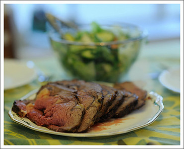 Roast beef, made by Raymen