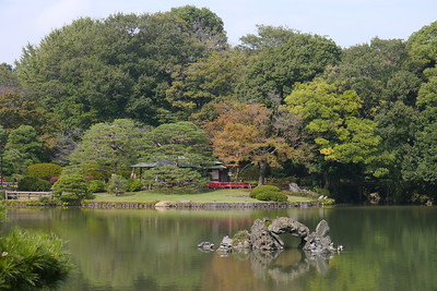 Horaijima, a stone arched island