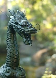 A dragon who protects the Kannon goddess.
