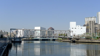Tennōzu Fureai Bridge