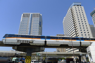 Tokyo Monorail, Tennōzu Isle