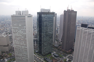 View from Tokyo Metropolitan Government Building, Shinjuku