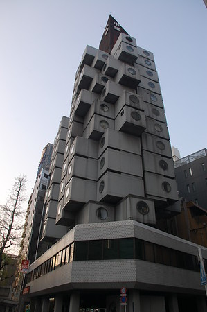 Nakajin Capsule Apartment Building