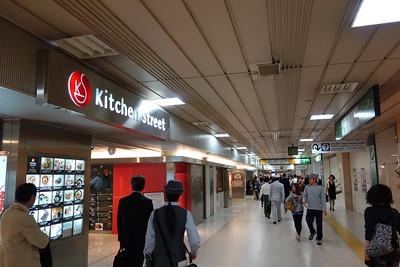 Passage to Yaesu side of station