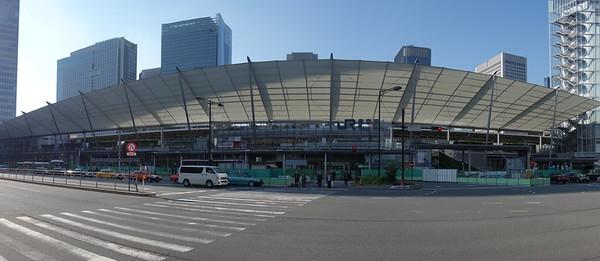 The Yaesu side of Tokyo Station