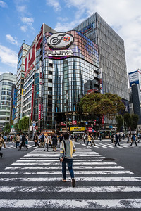 Ginza Crossing.
