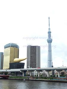 Asahi Building by Philippe Starcke
