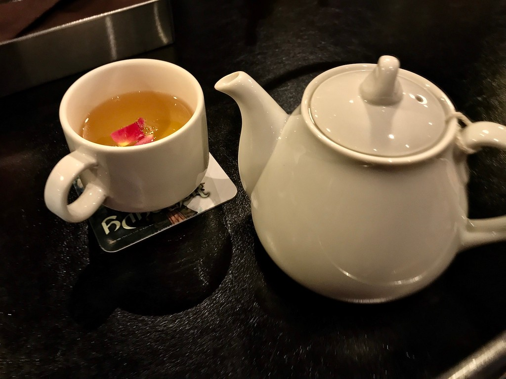 A soothing pot of herbal tea