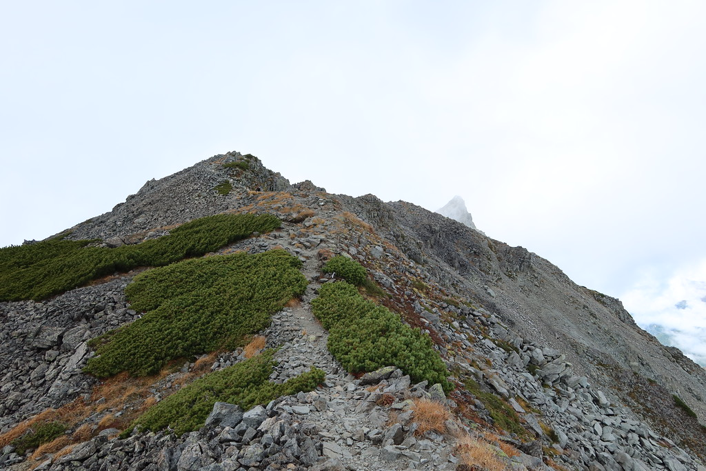Summit cone of Obami-Dake
