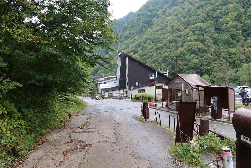 Coming into Shin-Hodaka Onsen town