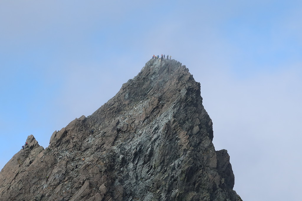 Close up of Yari-ga-Take summit