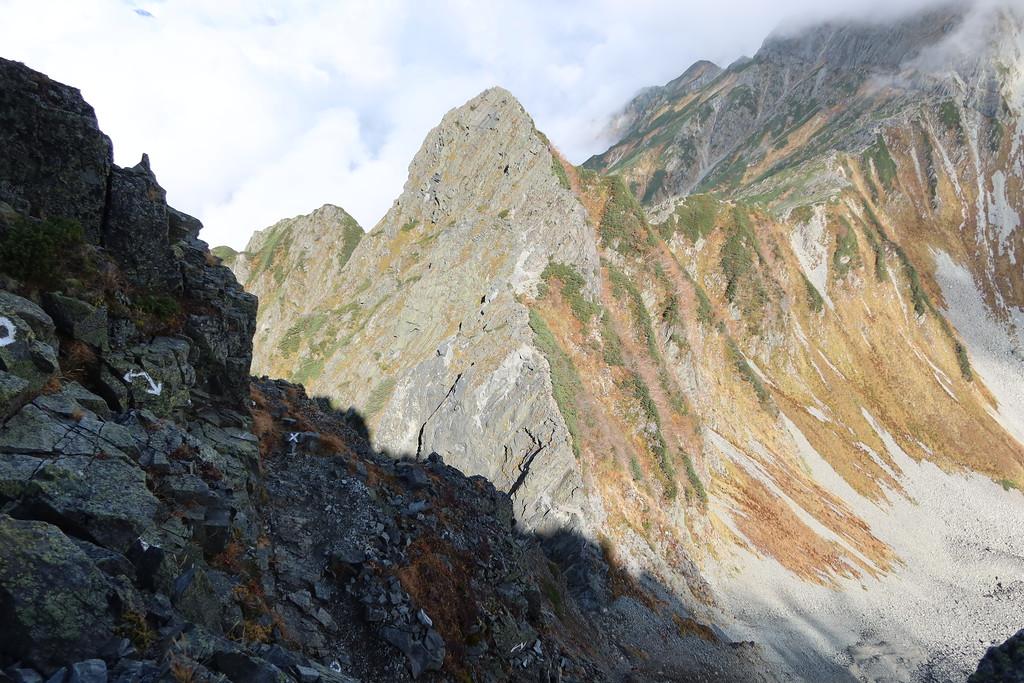 Looking toward Hasegawa Peak