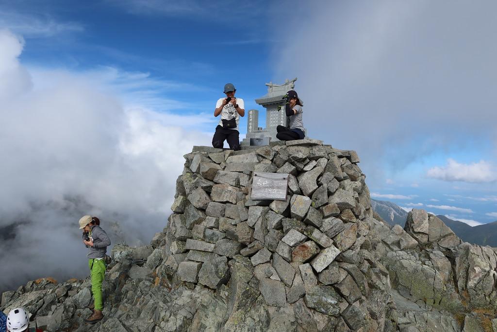 Oku-Hodaka summit