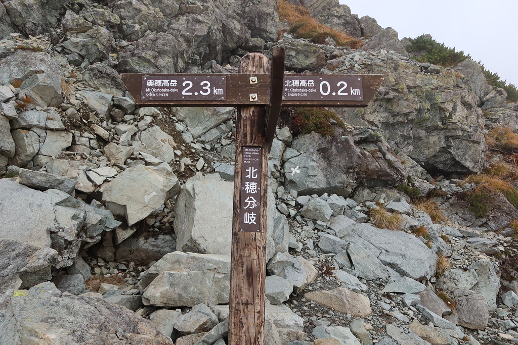 Kitahotaka-Dake Fork Junction