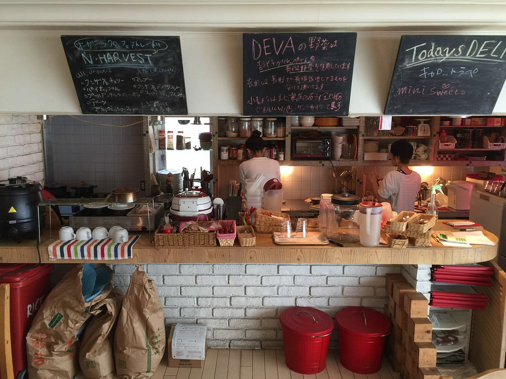 DevaDeva Cafe kitchen