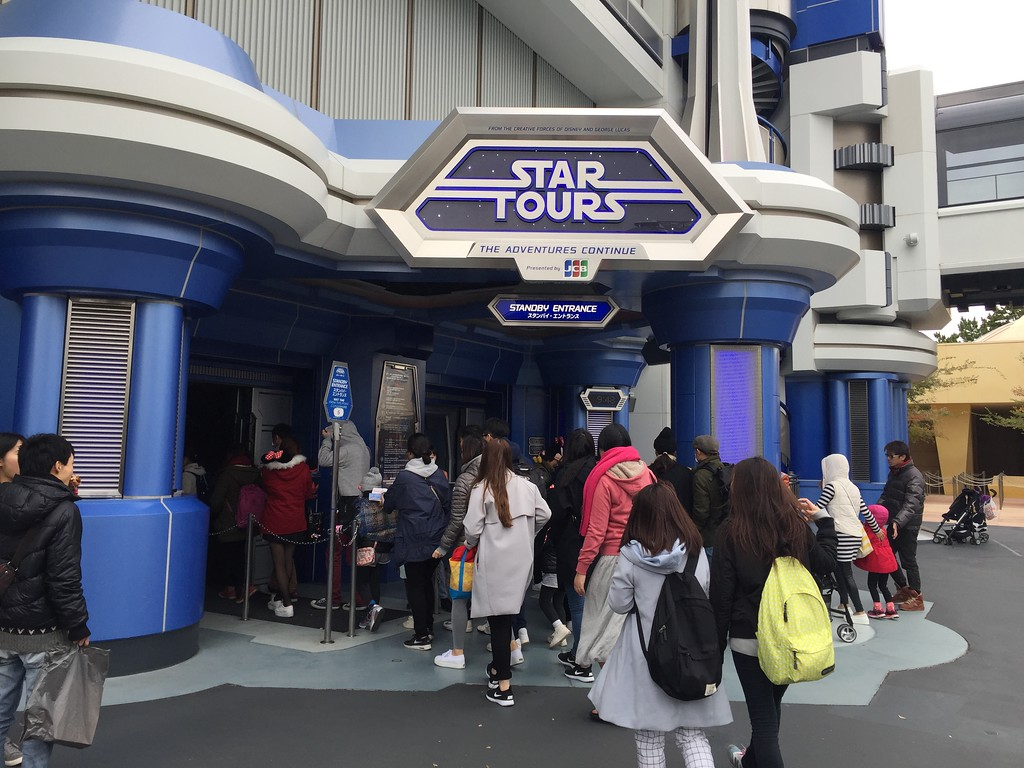 Star Tours, the best ride of the day