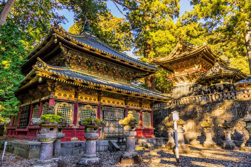 Toshogu Shrine at Nikko. Editorial credit: Luciano Mortula - LGM / Shutterstock.com