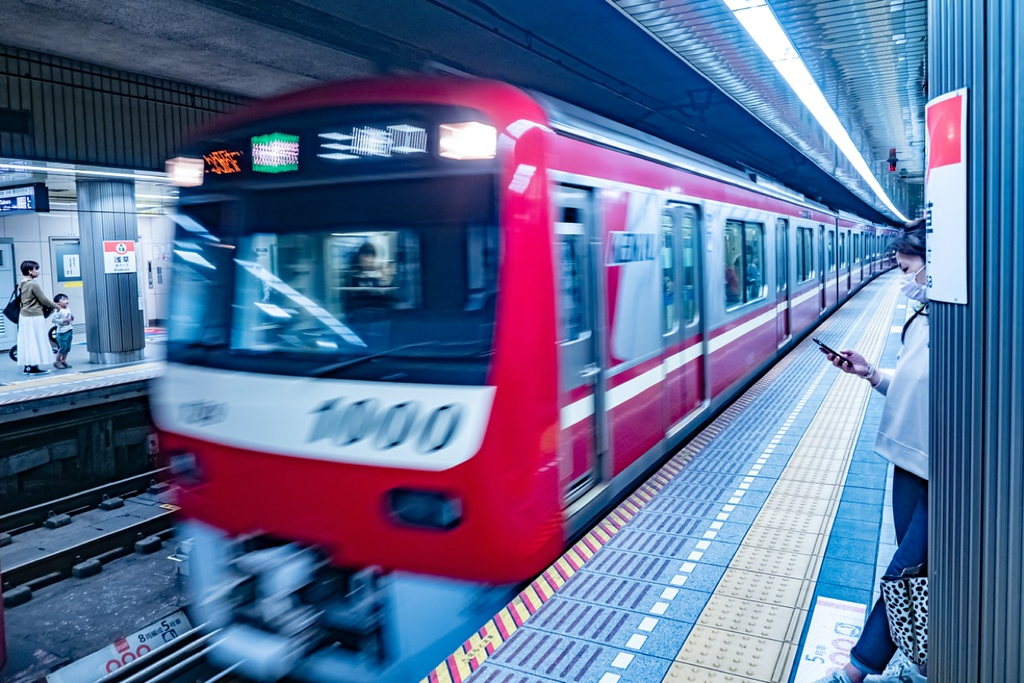 Keikyu subway. Editorial credit: FOTOGRIN / Shutterstock.com