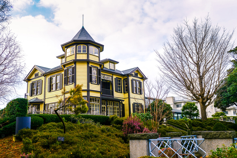 The former house of a diplomat in the Yamate area.. Editorial credit: Reuben Teo / Shutterstock.com