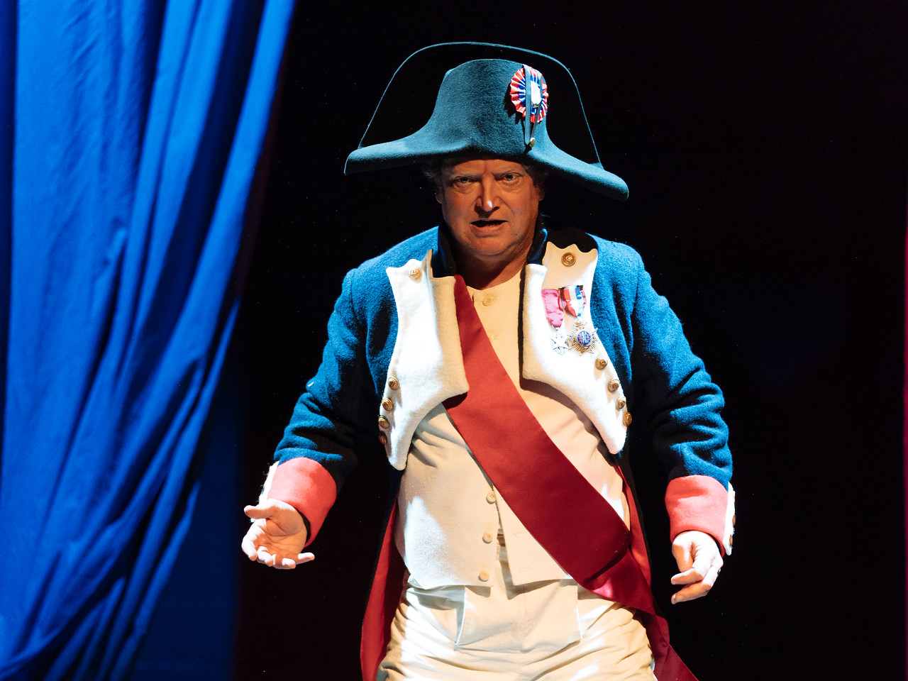 Told by an Idiot presents Napoleon Disrobed directed by Kathryn Hunter