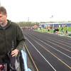 19 - girls 100m final - Micah Johnston + Abbie Roose