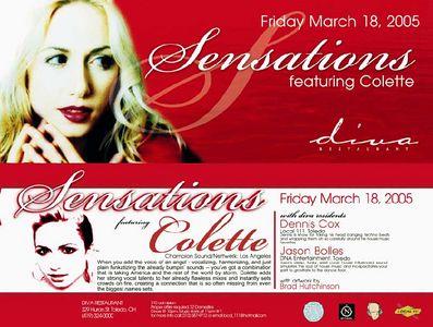 Sensations @ Diva's  ~Collette~