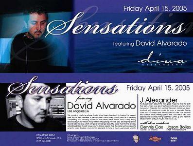 Sensations @ Diva's