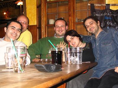 Raduno del sabato 30/03/2007 alla Marconi - due cuori, uno stendardo ... e tanti amici. Evento storico: la riapparizione di Bard da due anni a 'sta parte