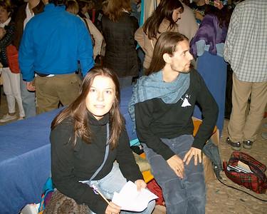 2003, X-Hobbiton. Il nazgûl e l'aspirante tale.
