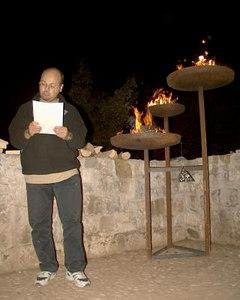Salone del fuoco dell' hobbiton 2003 - referente in lettura