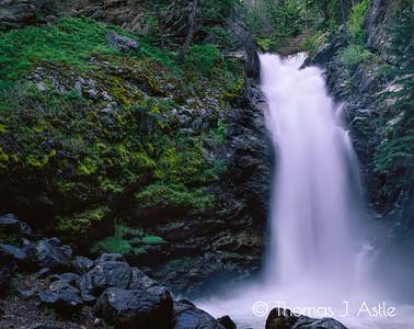 June Waterfall, Montana