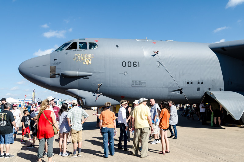 One of 76 B-52s still on active duty