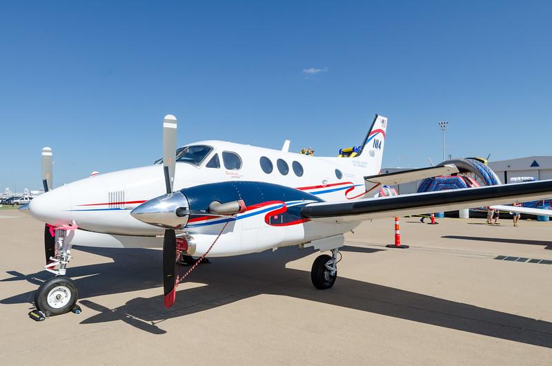 FAA King Air.  Flight Standards and VIP Transport.  Nice N number; N14