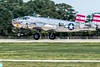 Larry Kelleys's DAV 1943 B-25, Panchito,rollout.  Flew 19 WW2 combat missions