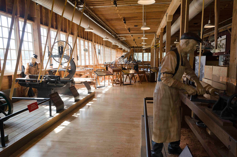 The original Boeing factory - airplanes were made of wood.
