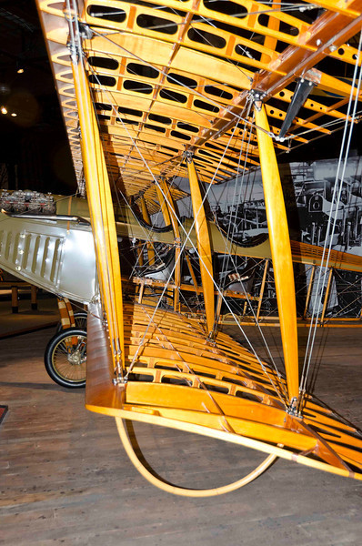 Curtiss JN-4D Jenny Reproduction, 1917 trainer for WW I