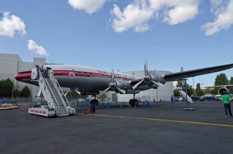 Lockheed 1049G Super Constellation, 1954, the last and greatest piston-powered airliner