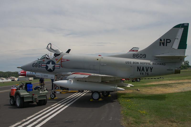 A-4 Skyhawk, also know as Hinneman's Hotrod
