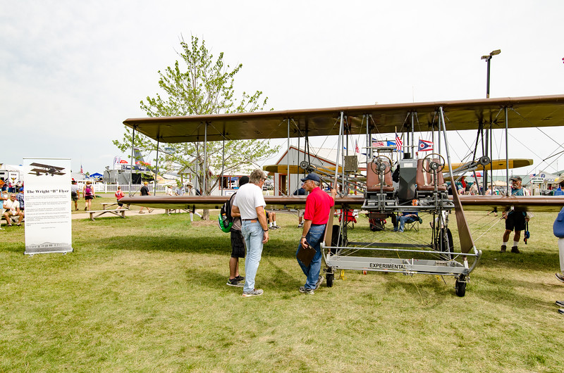 1913 Wright Model B Flier from Dayton OH.  1st U.S Army aircraft.