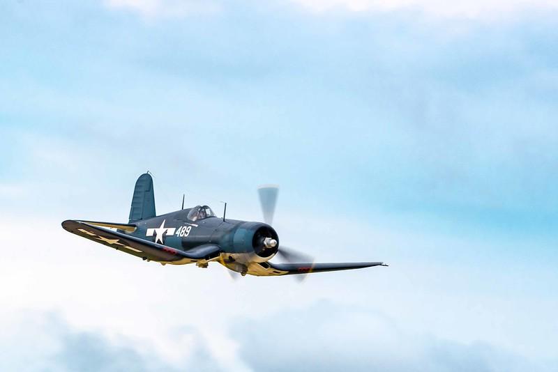 FG-1D Corsair from Texas Flying Ledgends (Goodyear built Vaught F4U)