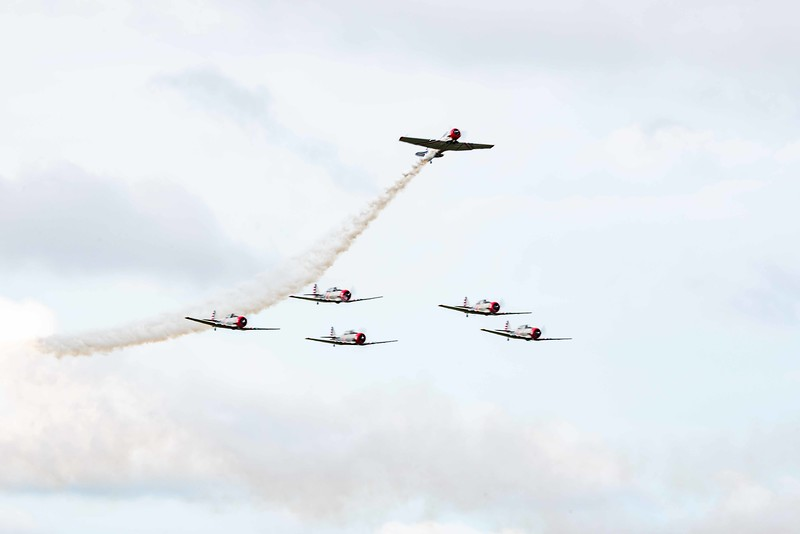 Geico T-6 Skywriters