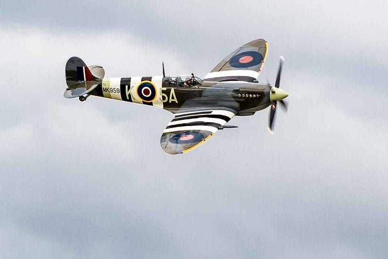 Supermarine Spitfire MK IXc, a Battle of Britain Veteran from Texas Flying Ledgends Museum