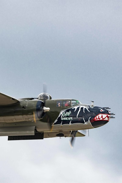 North American B-25 Mitchell 6 50cals in the Nose