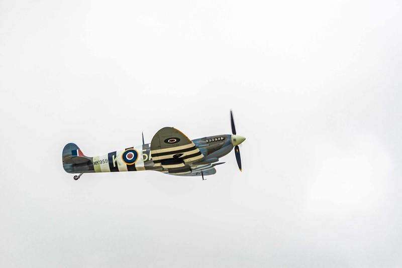 Supermarine Spitfire.  It and the Hurricane saved Britain
